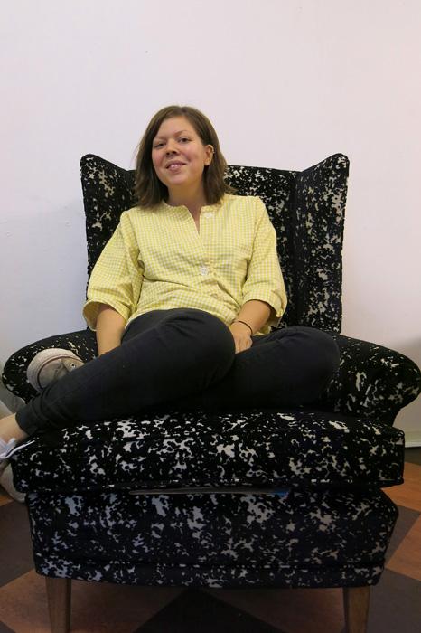 Strålende fornøyd Monica Nilsson med svennestykket