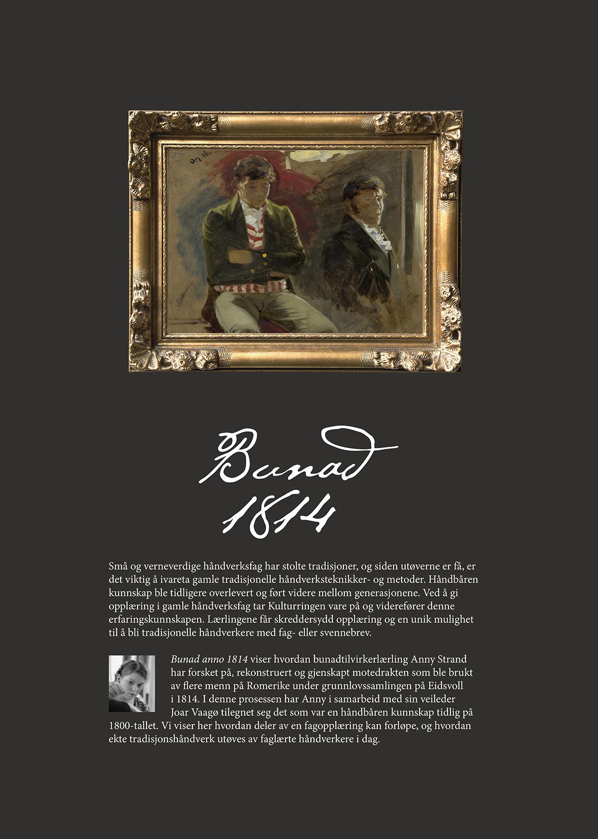 Bunad 1814 utstilling