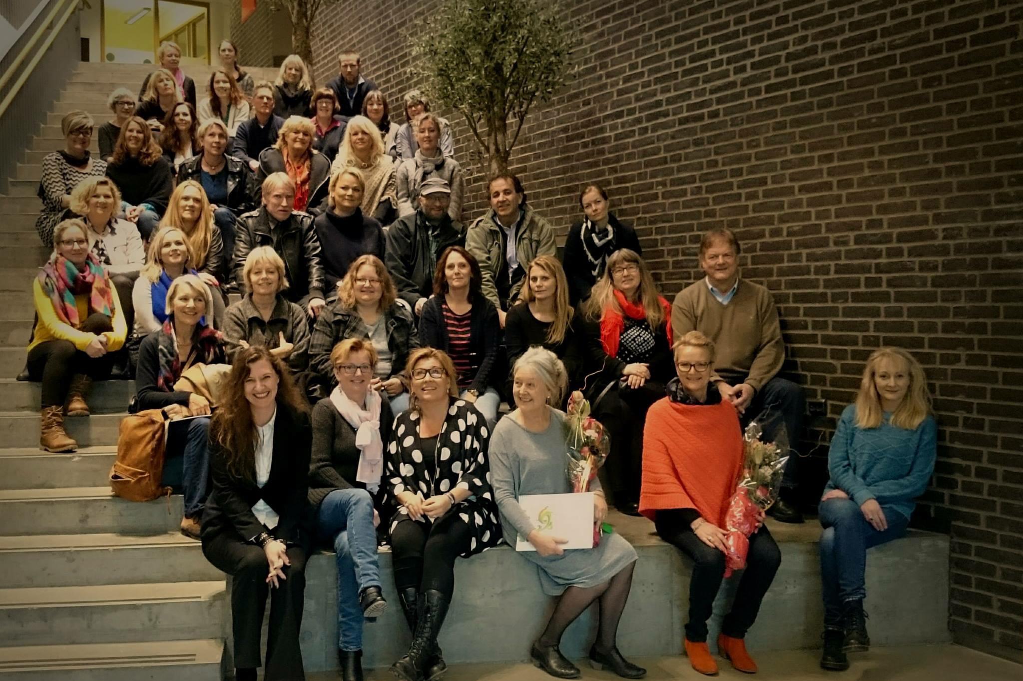 Nettverksdag for Design-og håndverkslærere i Akershus. Foredraget fra Kulturringens Unni og en invitasjon til tettere samarbeid med Kulturringen i skolen ble tatt godt imot