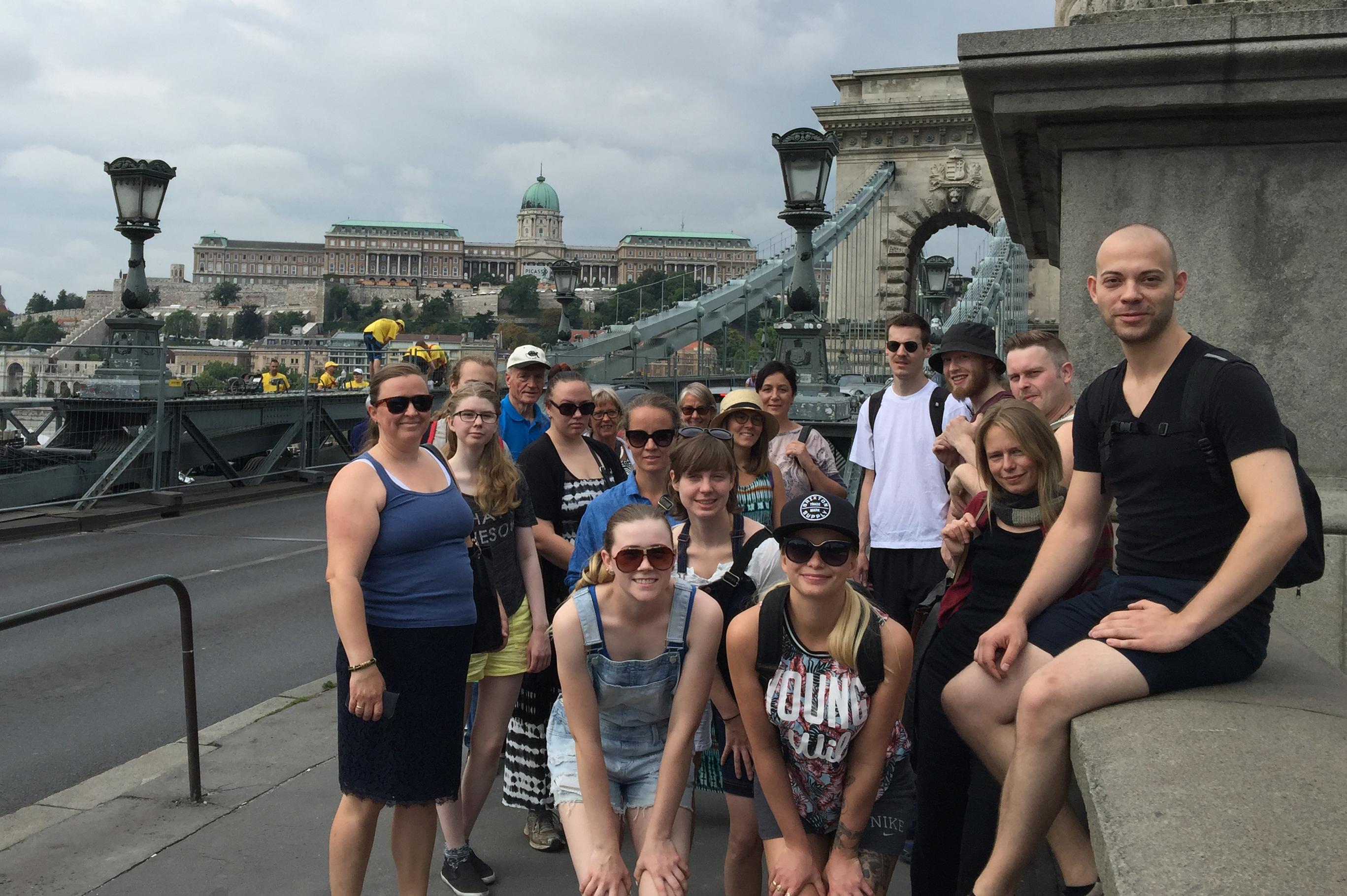Klar, ferdig, gå. Spennende dager i Budapest venter på Kulturringens lærlinger.
